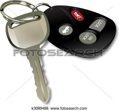 Car key Clipart Royalty Free. 3,639 car key clip art vector EPS.