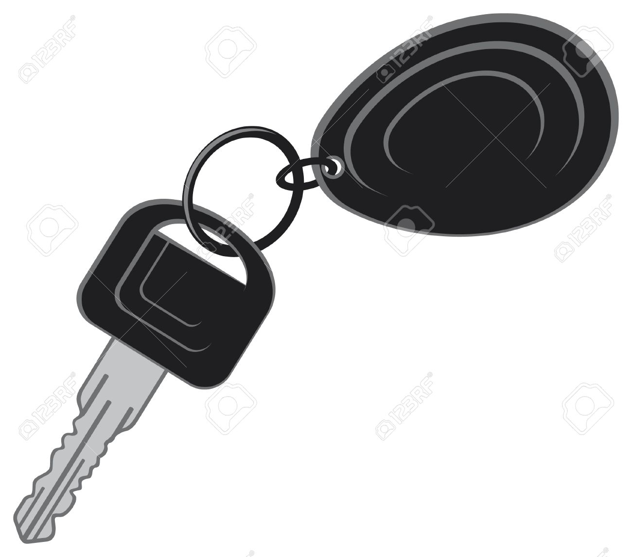 Car key clipart.