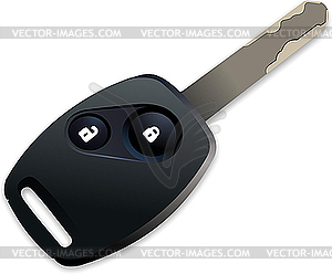 key with remote control.