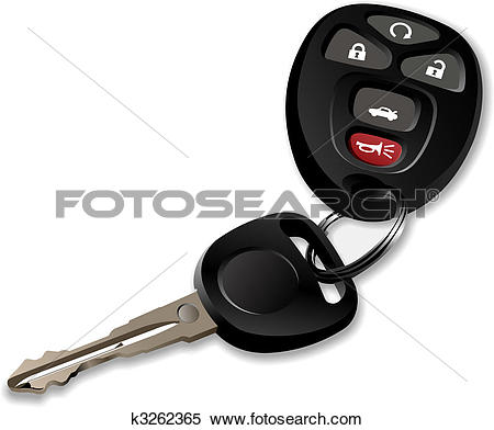 Car key clipart #15