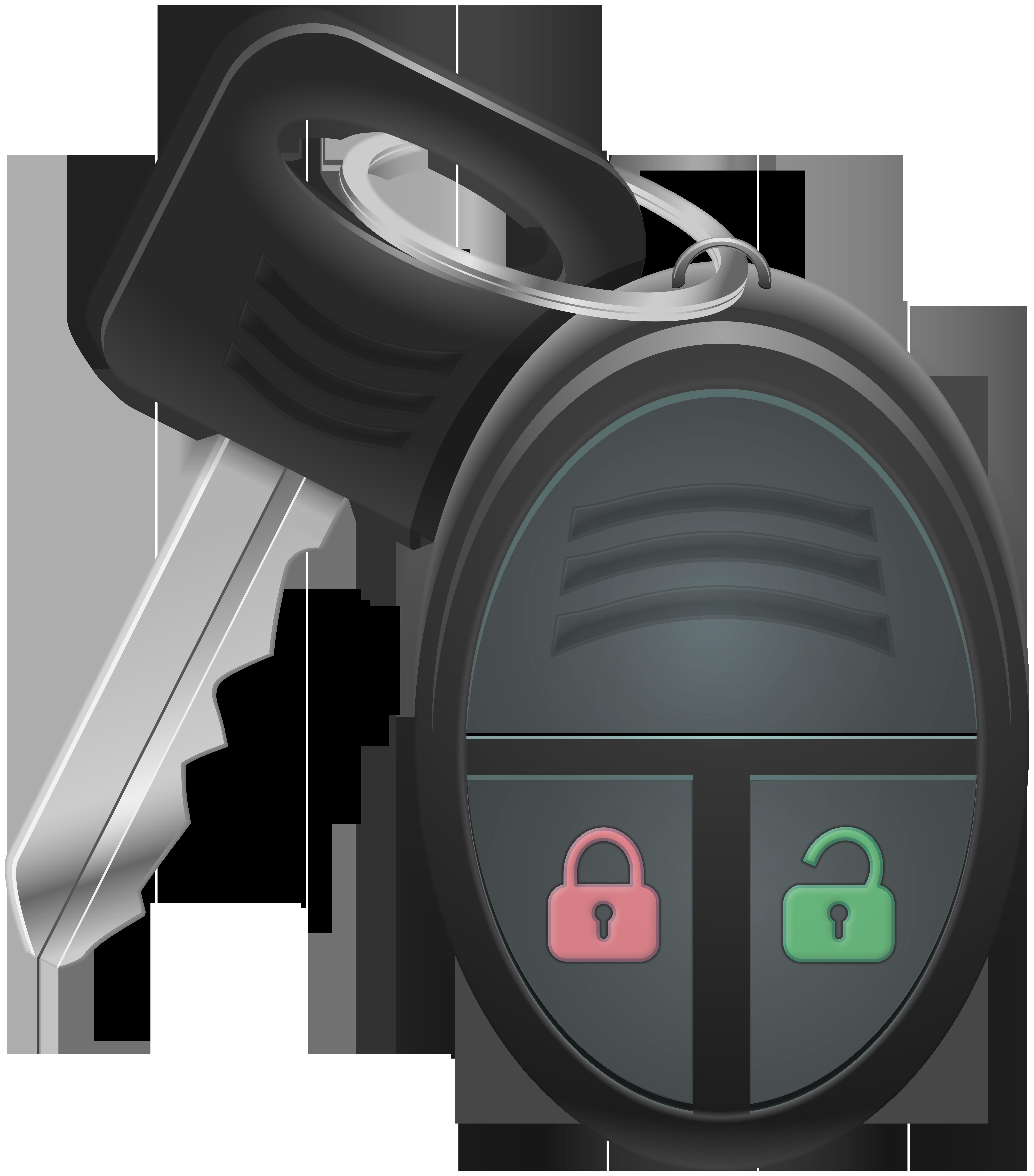 Remote Car Key PNG Clip Art.