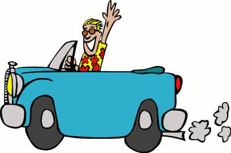 Car Travel Clipart.