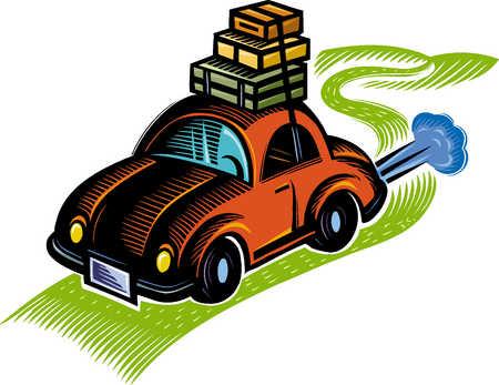 37068 Car free clipart.