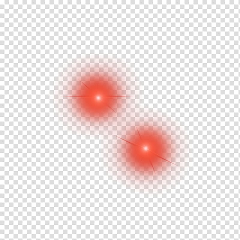 Two red light illustration, Light Red Circle Pattern, Red car light.