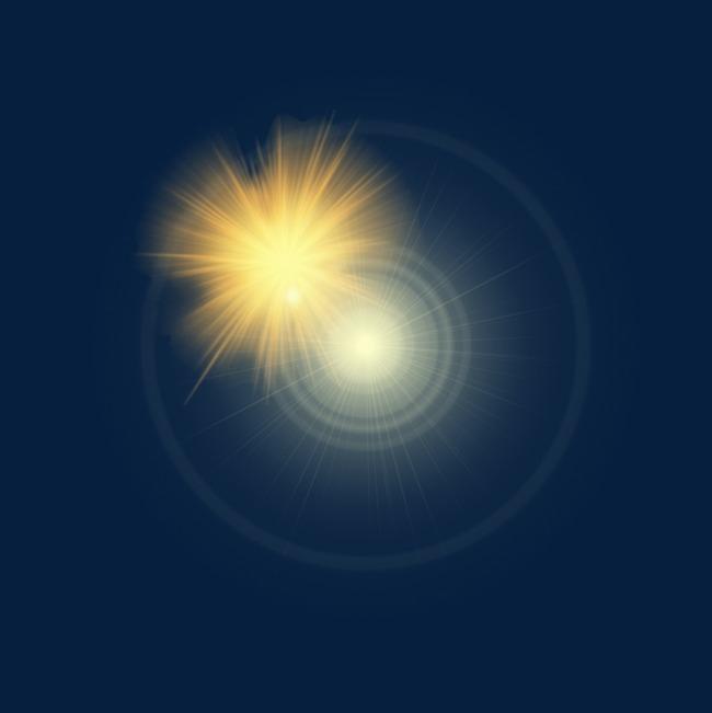 Yellow Car Light Effect, Yellow Light Exposure, Automobile Lamp.