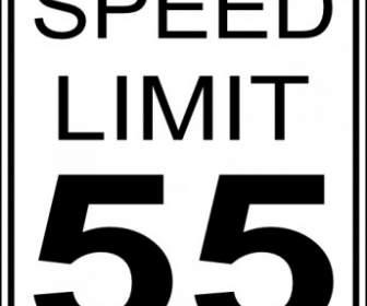 Speed Limit Clip Art.