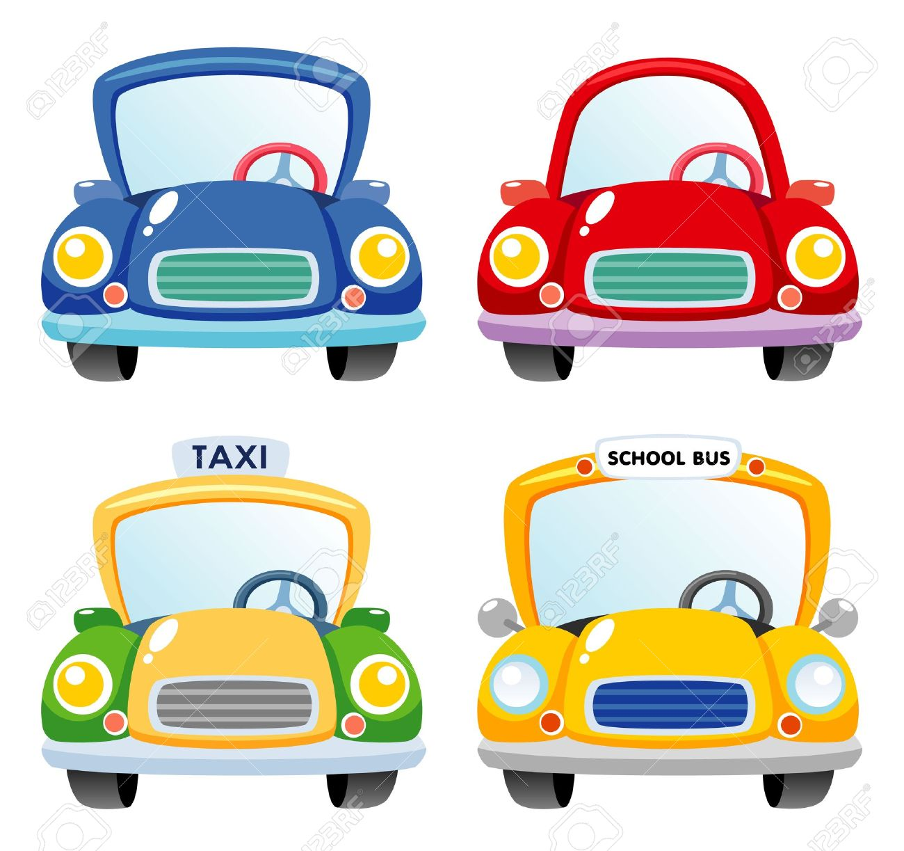 46,331 Cartoon Car Stock Vector Illustration And Royalty Free.