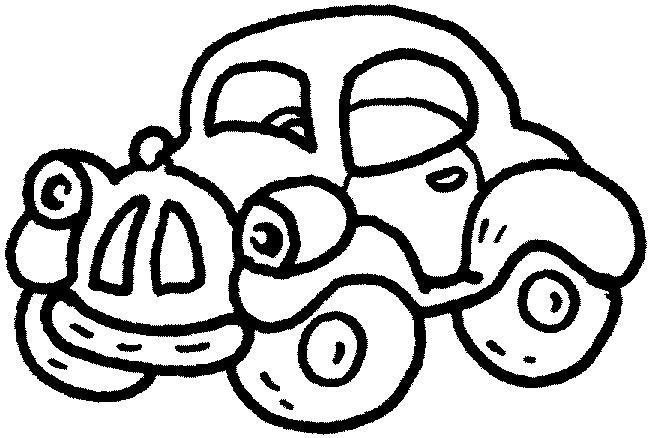 Car Line Art.