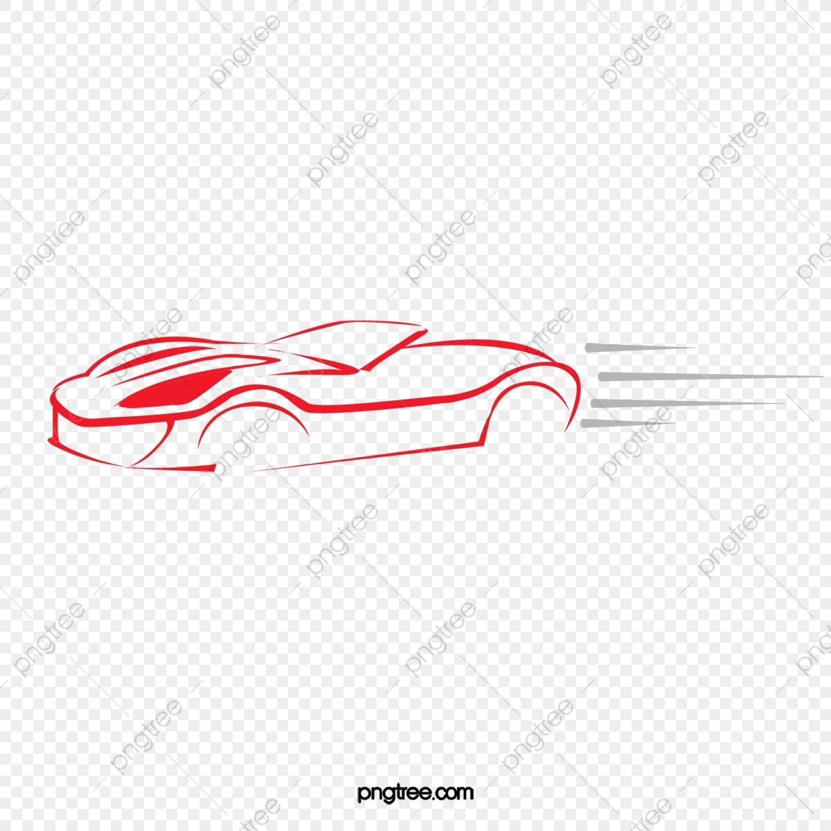 Vector Car, Car Clipart, Car, Line Drawing PNG Transparent Clipart.