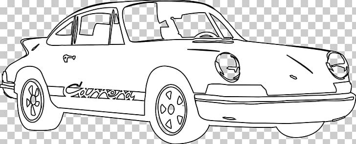 Sports car Line art Car door Drawing, Porsche s PNG clipart.