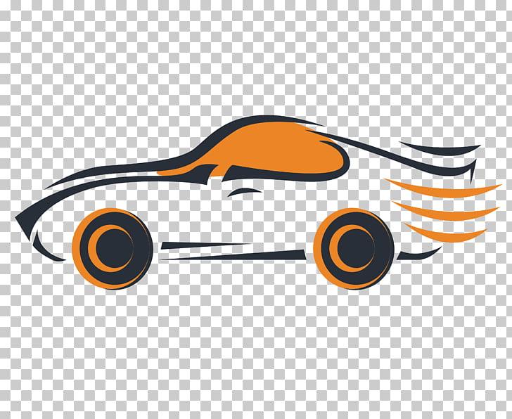 Sports car Logo, sports car car wire frame , black and.