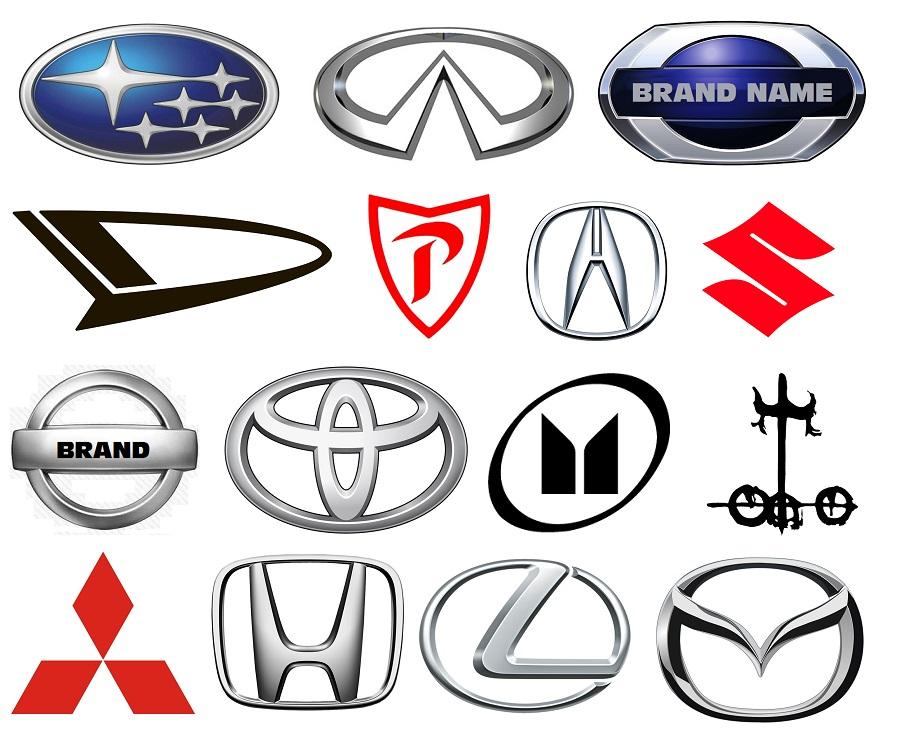 Japanese Car Logos.