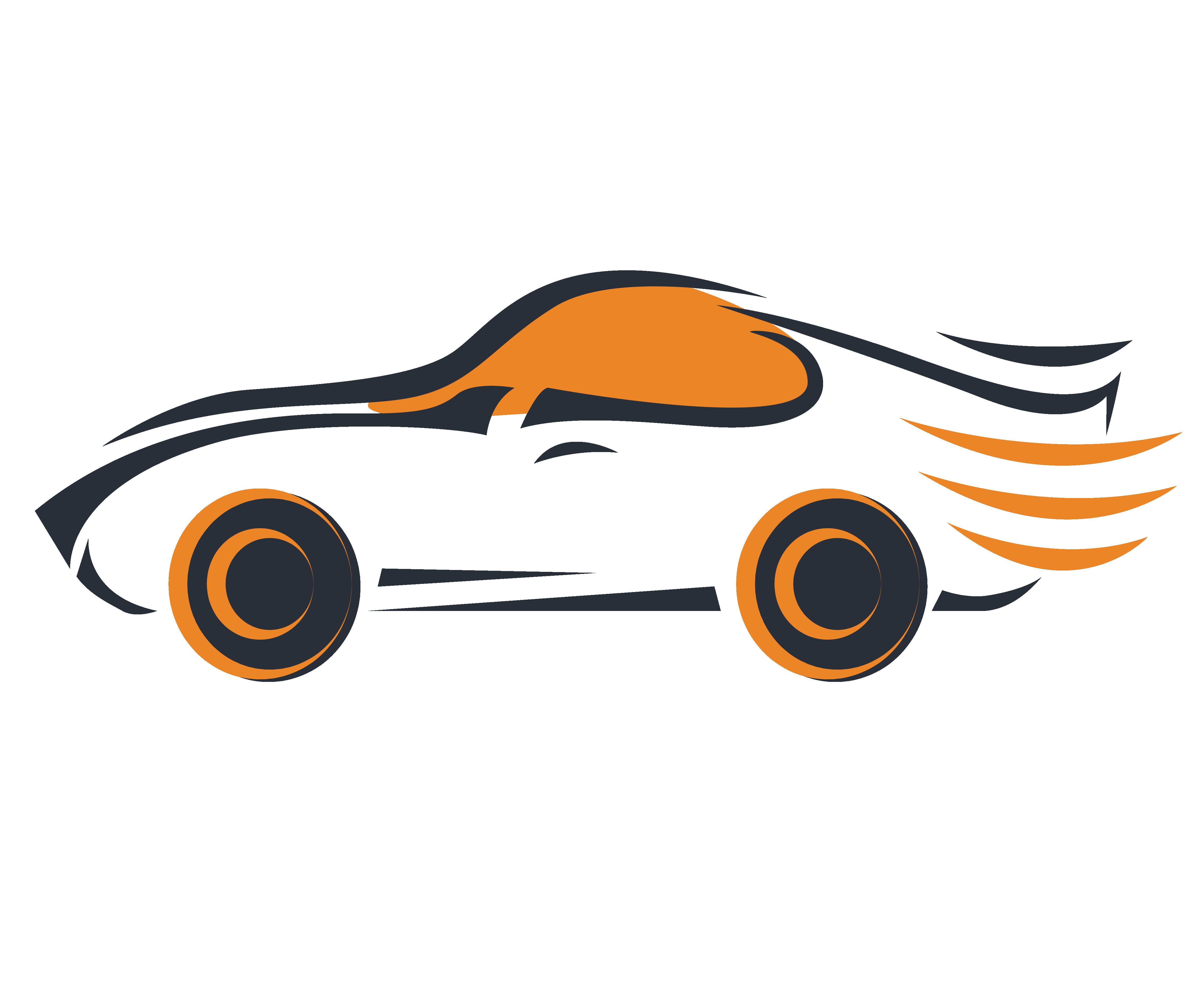Sports Car Logo.