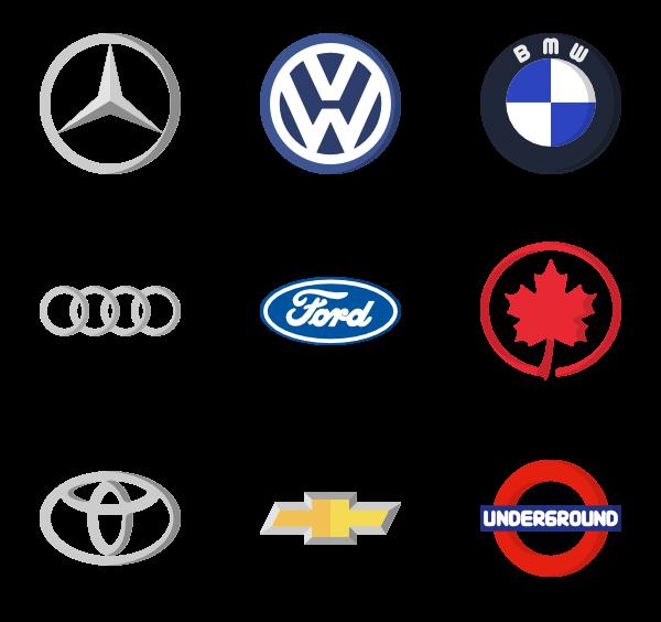 3 car logo icon packs.