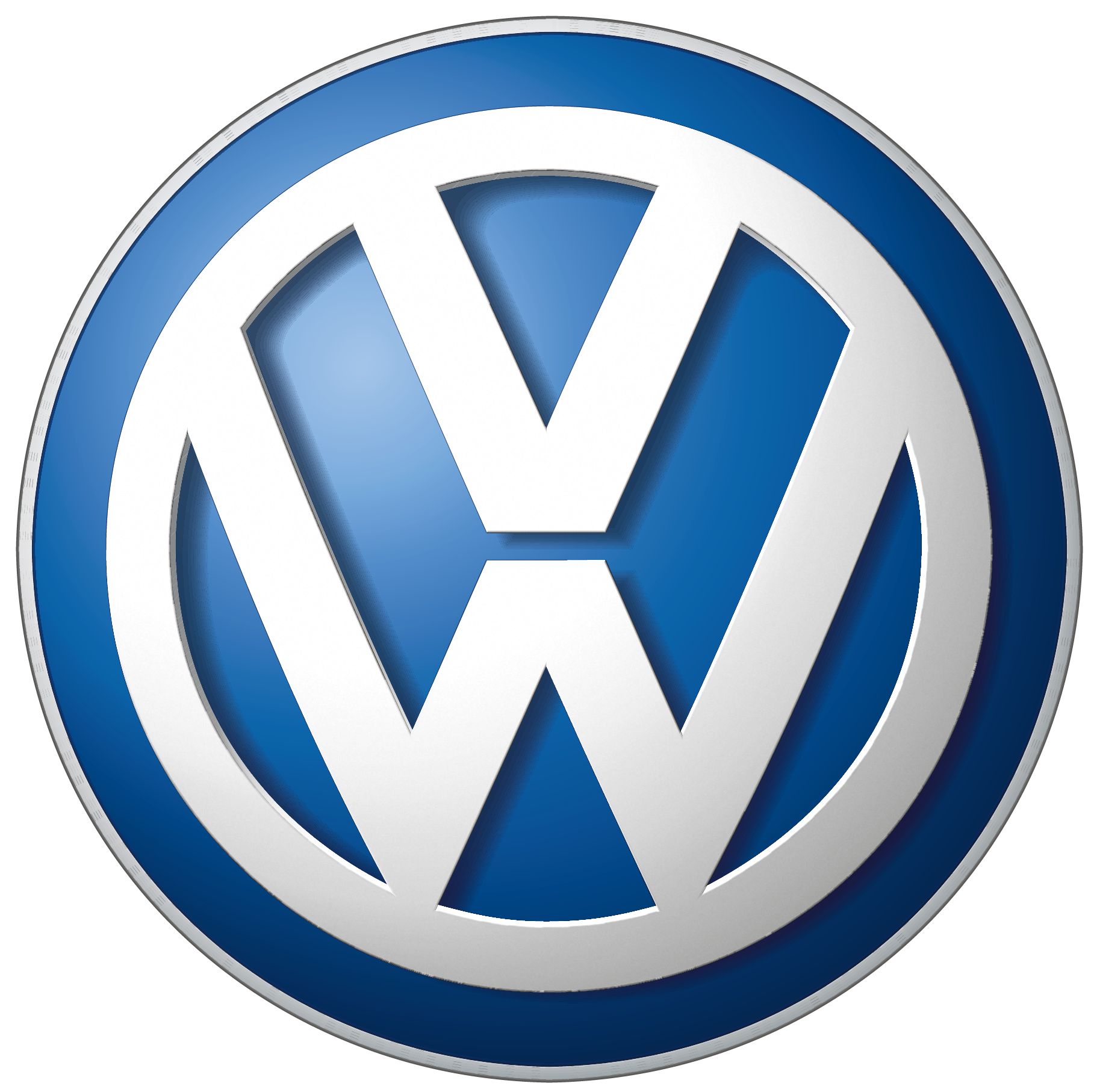 Volkswagen car logo PNG brand image.