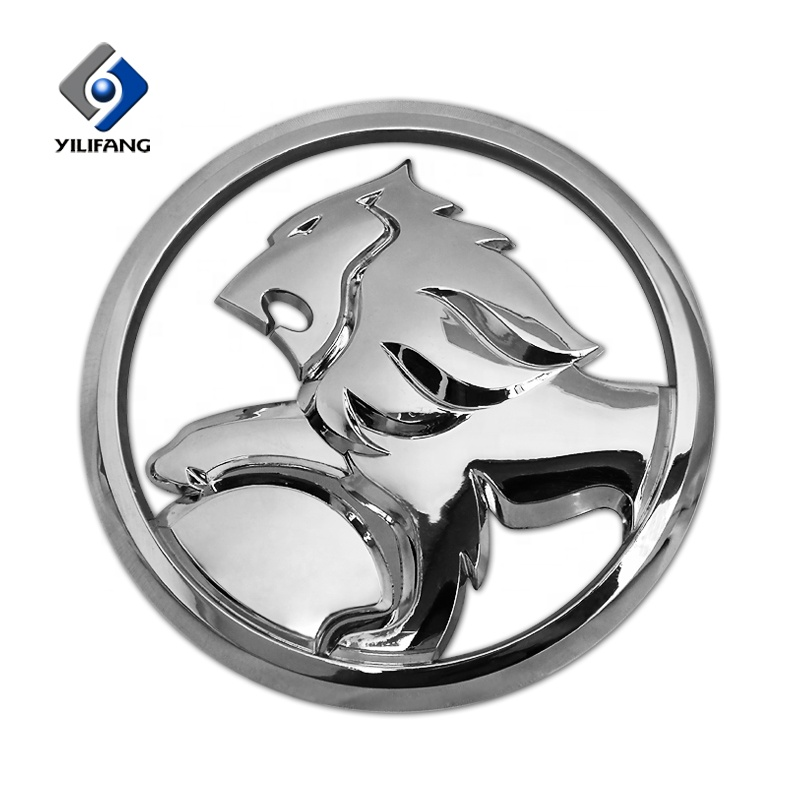 3d Logo Plastic Abs Chrome Car Logo Stickers Emblem Badges For Car.