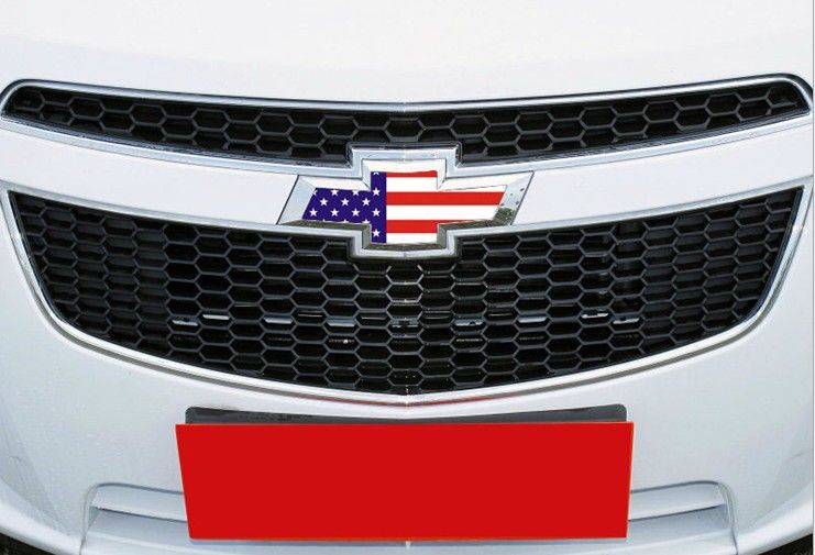 Soo want this! chevy emblem with American flag.