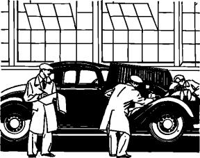 Car Factory Clipart.