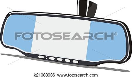 Stock Illustration of car mirror k21083936.