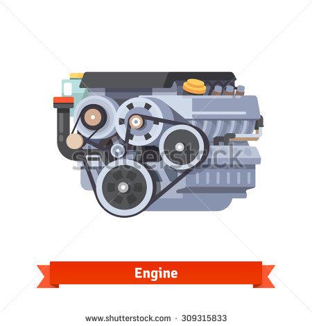 V8 Engine Stock Vectors & Vector Clip Art.