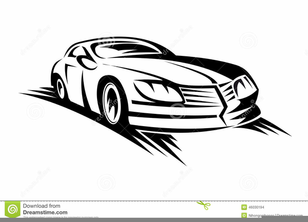 Moving Car Clipart.