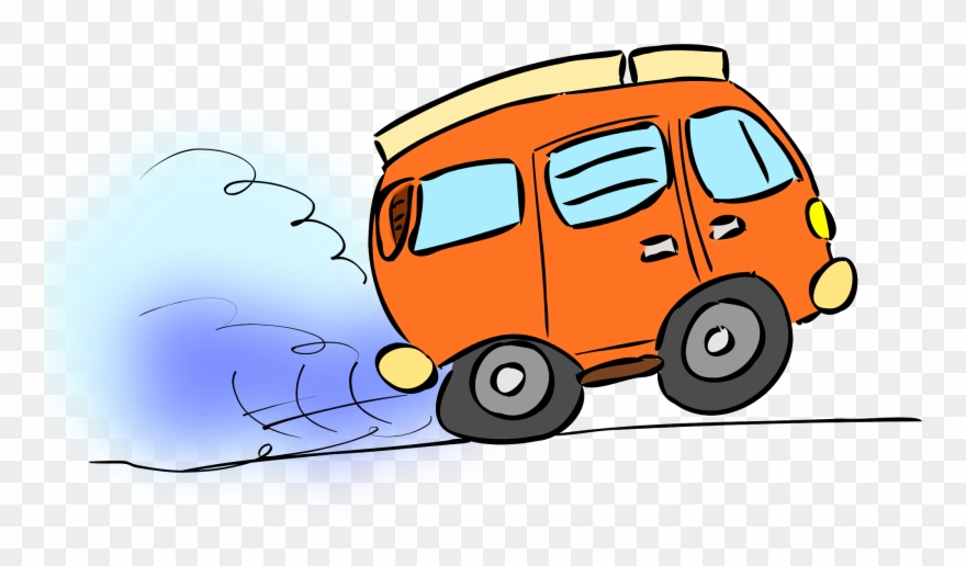Car Moving Cartoon Png Clipart (#255068).