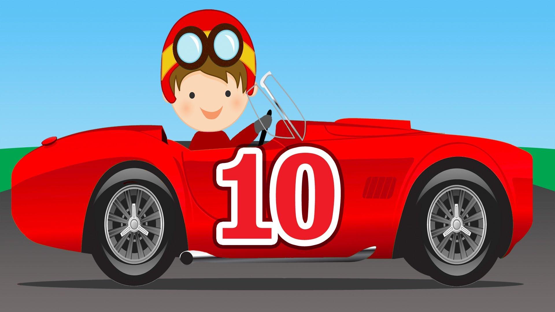 Pics Of Cartoon Racing Cars.
