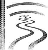 Tracks Clip Art.
