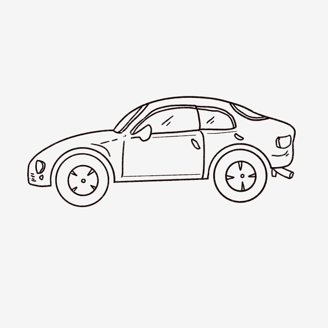 Car Outline, Car, Vector, Logo PNG Transparent Clipart Image and PSD.
