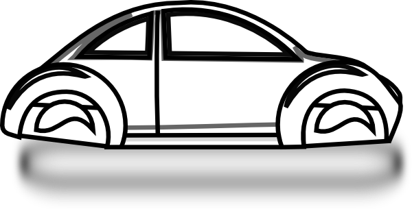 Beetle Car Outline Clip Art at Clker.com.