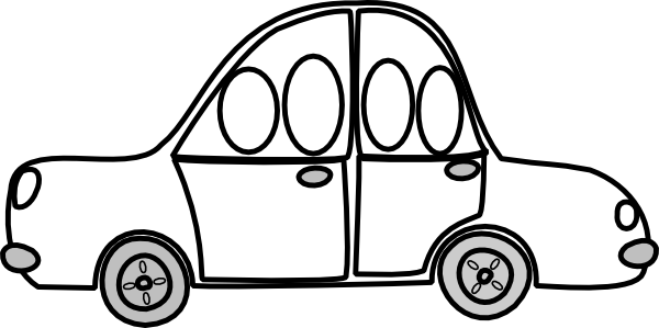 Car Share Outline Clip Art at Clker.com.