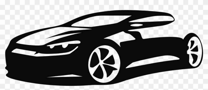 Car Silhouette Clip Art Outline Png Download.