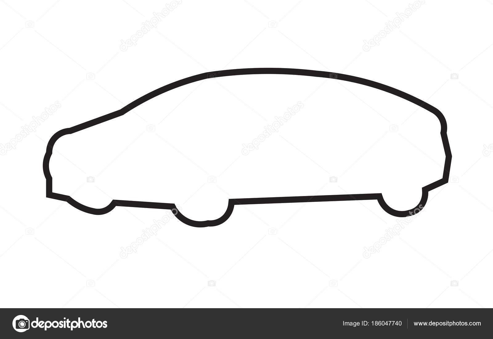 Car outline png.