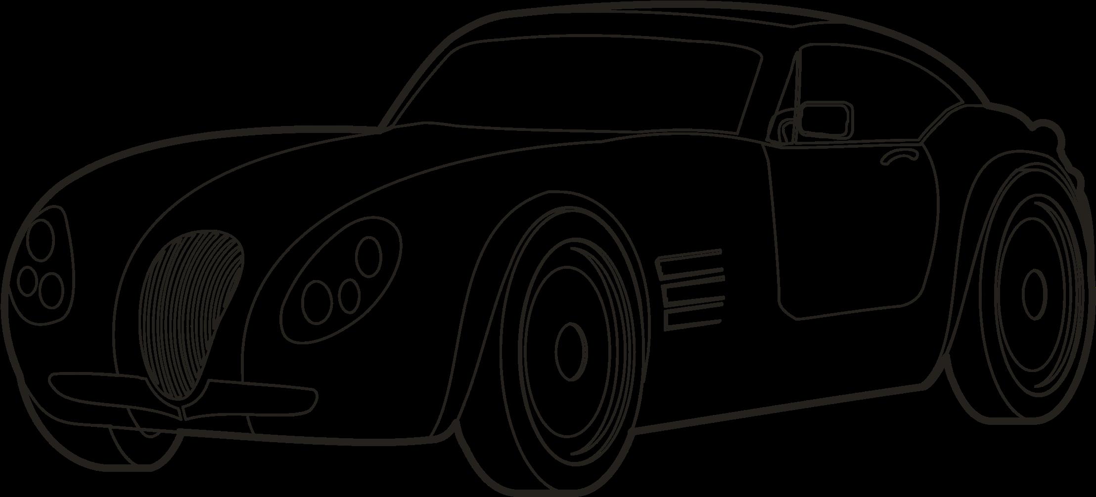 HD Drawing Sport Car.