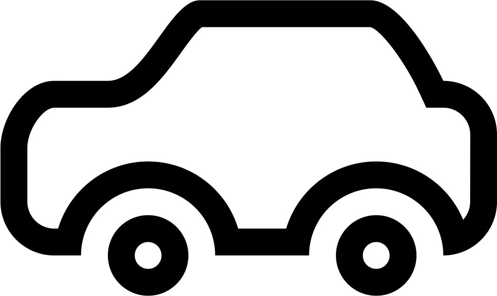 Transport Car Outline Svg Png Icon Free Download (#10451.