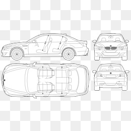Car Outline Png, Vector, PSD, and Clipart With Transparent.