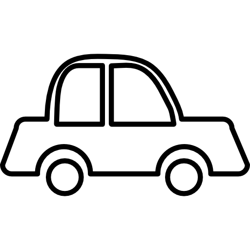 Car outline Icons.