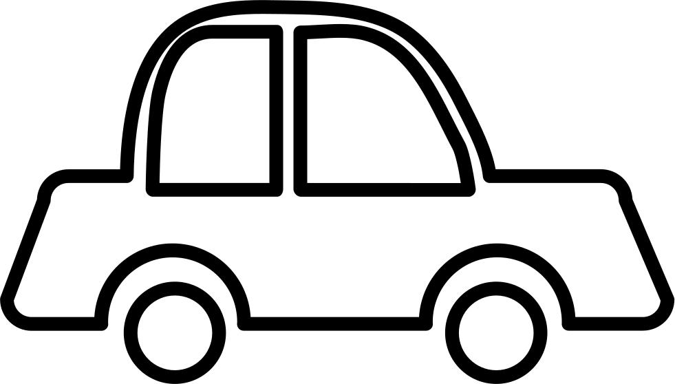Outline Of Car.