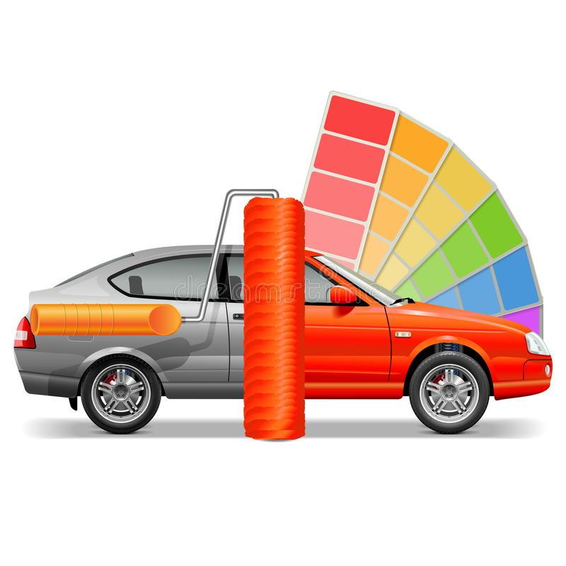 Car Paint Stock Illustrations.
