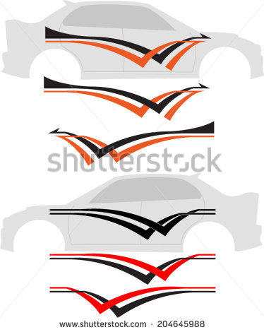 Vehicle Decals Stock Images, Royalty.