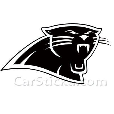 Carolina Panthers logo nfl car wall vinyl sticker decal • $9.99.