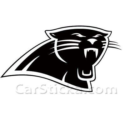 Carolina Panthers logo nfl car wall vinyl sticker decal • $9.99.