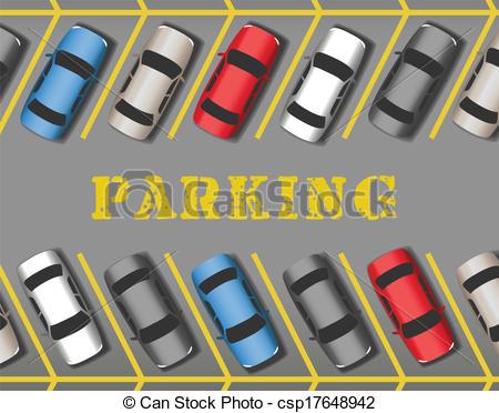 Parking Lot Clipart.
