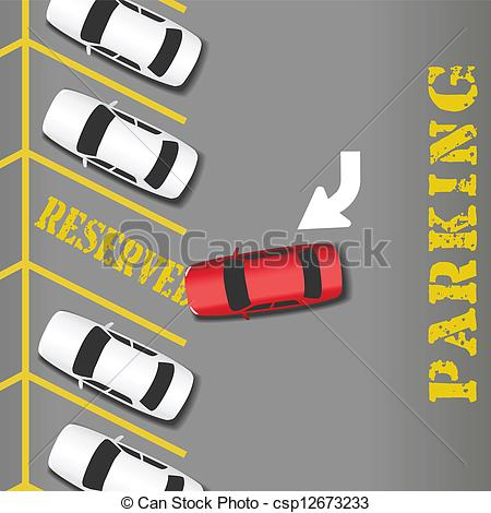 Parking Lot Clipart.