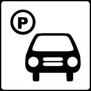 Car park clipart.