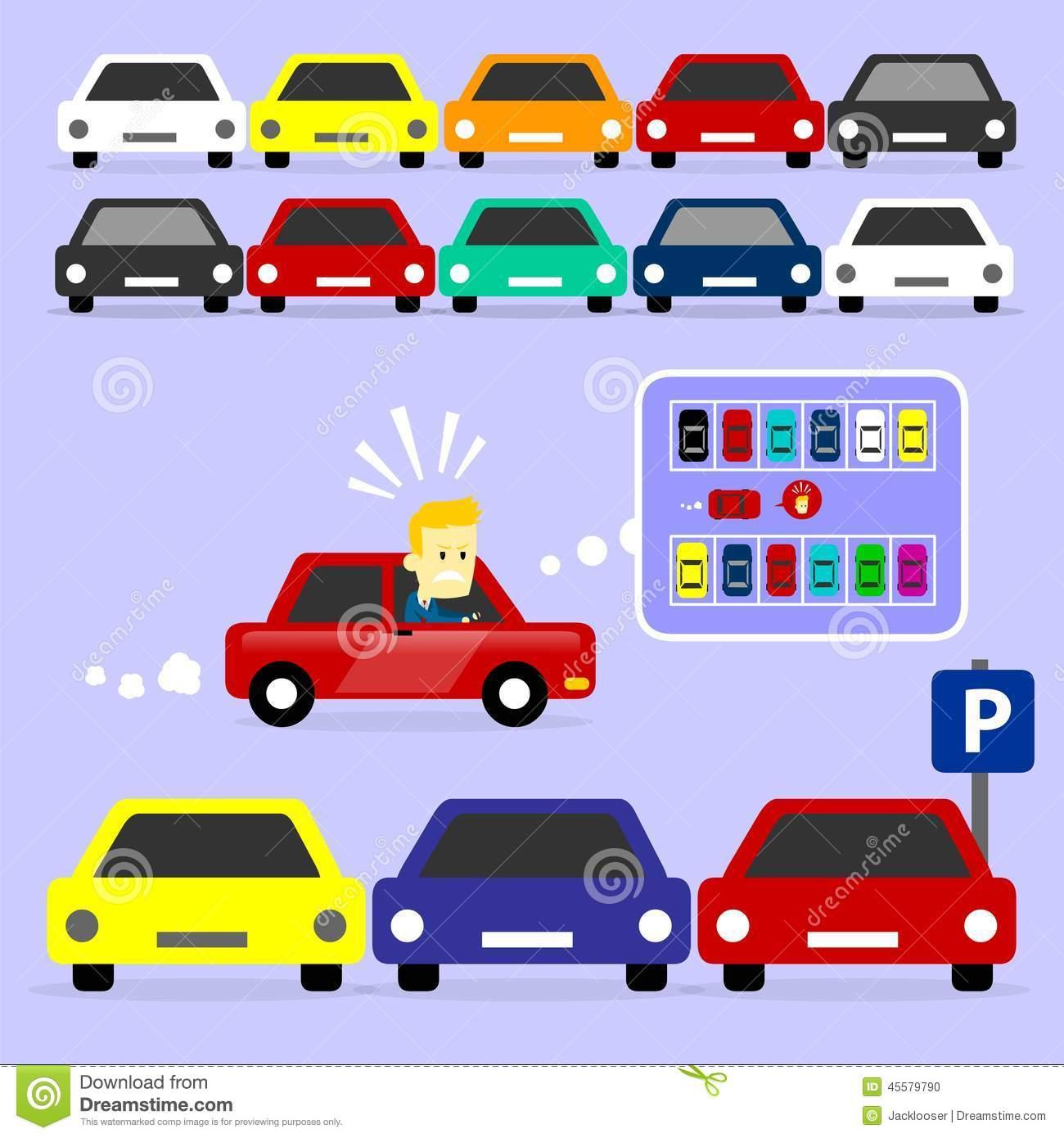 Clip Art. Parking Lot Clipart. Stonetire Free Clip Art Images.