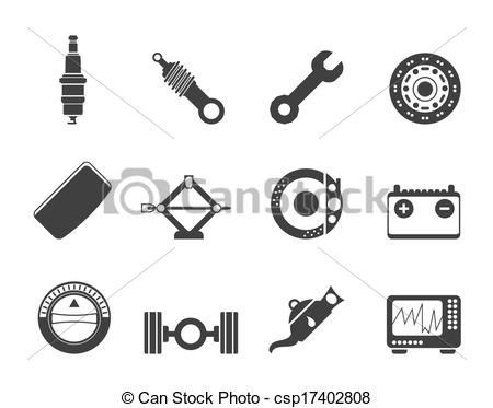 Clip Art Car Parts.