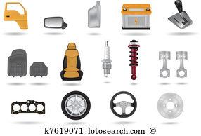 Auto parts Clipart Illustrations. 3,526 auto parts clip art vector.