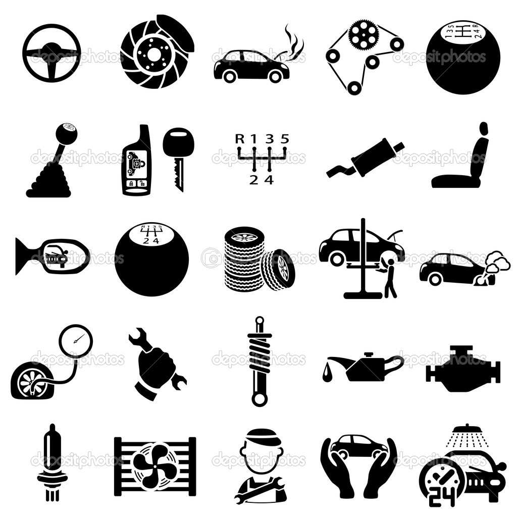 Engine Parts Clipart.