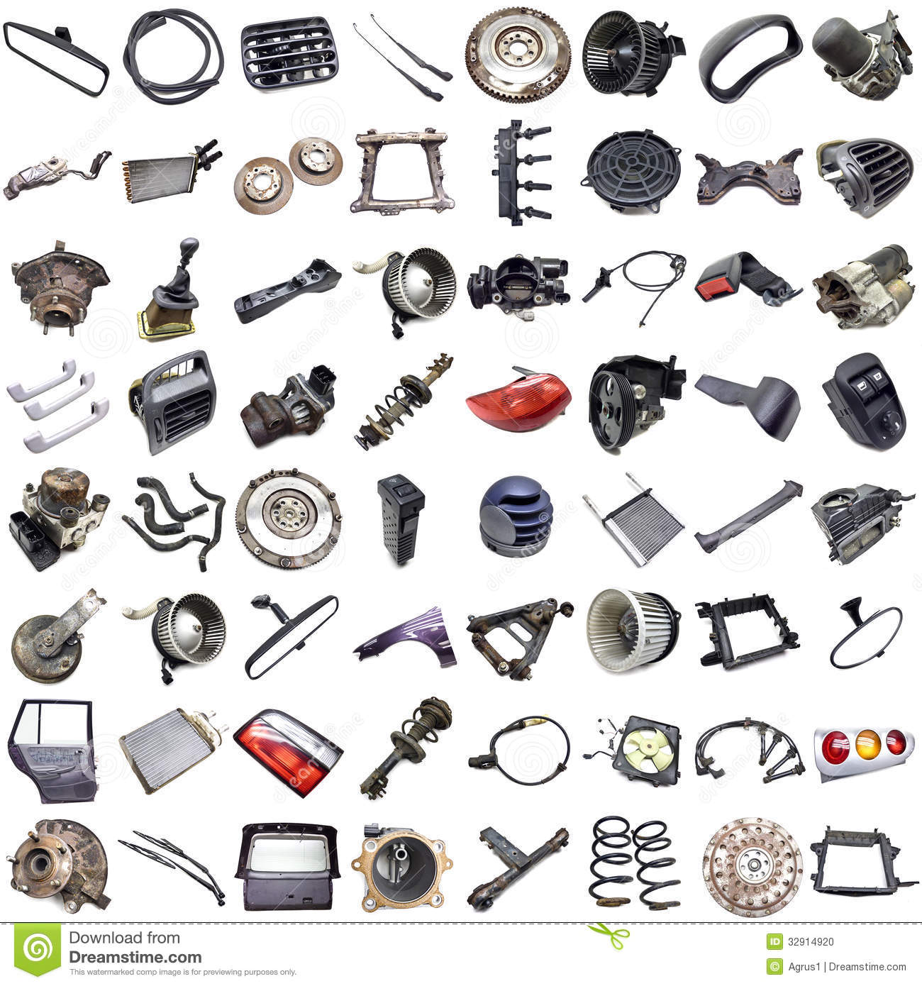 Clipart free car parts.